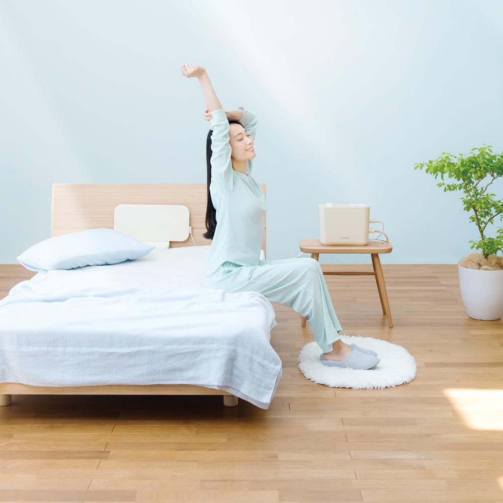 寝具タイプの電位治療器「すやや」